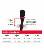 Rodillera LEATT Dual Axis Negra/Roja