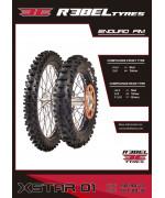 Neumático trasero Rebel Tyres X-STAR 01 Enduro FIM 140/80-18