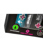Kit Limpiador antibacteriano lentes y cascos Muc-Off Helmet & Visor Cleaner Spray 35ml + paño + bolsa transporte
