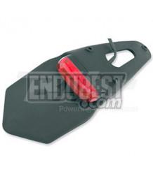 Portamatrículas universal Enduro rojo 5 leds